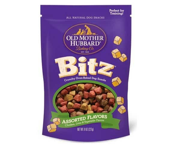 Old Mother Hubbard Bitz Natural Crunchy Dog Training Treats Only $2.56