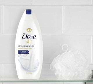 Dove Body Wash Deep Moisture 4-Pack $13.65 <br>**Only $3.41 Each Shipped**