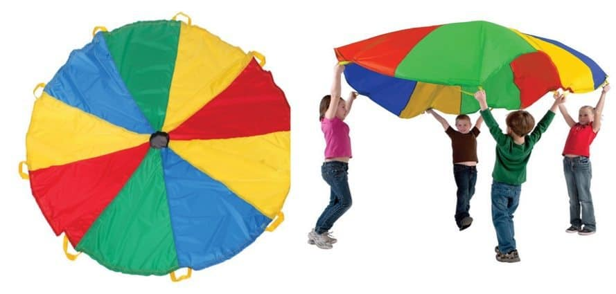 Pacific Play Tents Funchute 6 Foot Kids Parachute with Handles Only $7.93 (Was $18)