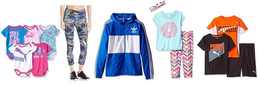 Up to 50% Off Activewear **Today Only**