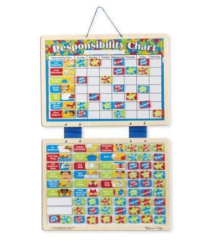 Melissa & Doug Magnetic Responsibility Chart Only $9.91