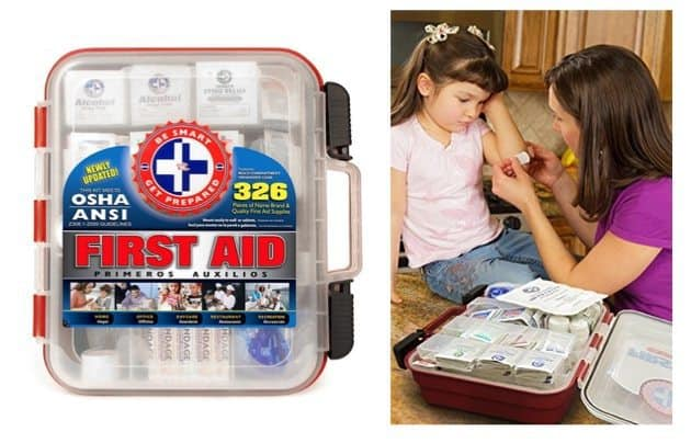 326 Piece First Aid Kit Only $26.24 **Today Only**