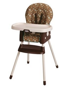 Graco SimpleSwitch Convertible High Chair and Booster in Little Hoot $39.88 (Was $80)
