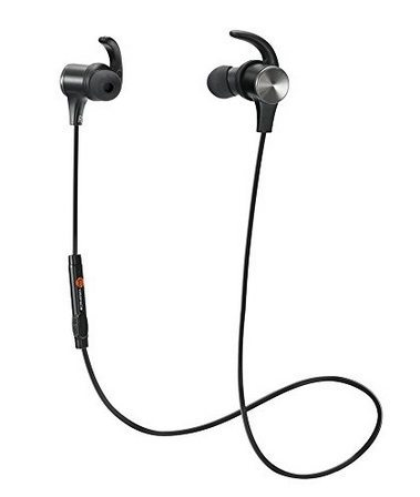 TaoTronics IPX5 Splash Proof Bluetooth Headphones with Built-in Mic Only $21.99 **Today Only**