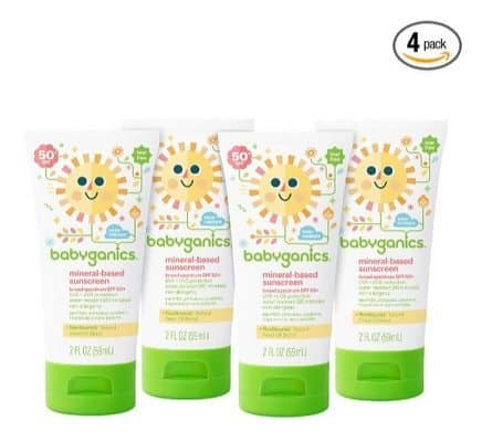 Babyganics Sunscreen Lotion 4-Pack $6.66 Shipped **Only $1.67 Each**