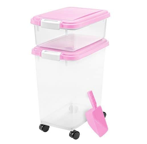 3-Piece Airtight Pet Food Container Combo Only $11.98