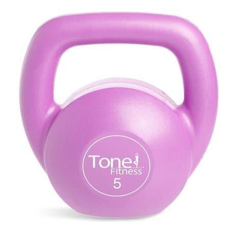 Tone Fitness Vinyl Kettlebell Only $3.99