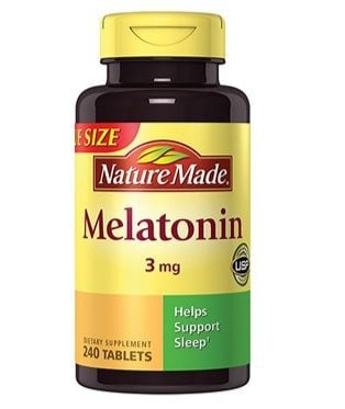 Nature Made Melatonin 240-Count Bottle Only $1.48 Shipped