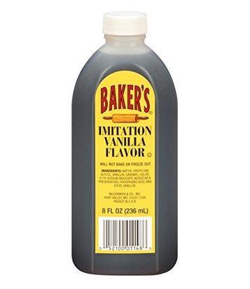 McCormick Baker's Imitation Vanilla Extract Only 98¢