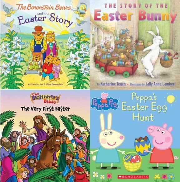 Easter eBooks as low as 99¢ **The Berenstain Bears, Peppa Pig & More**