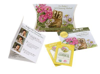 FREE Badger Argan Face Care Try-Me Kit