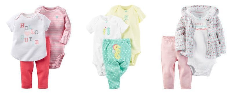 70% Off Baby Sets At Carters - 3-Piece Sets As Low As $6.60 (Was $22.00) *HOT*