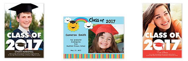 Cherishables: Graudation Announcements Only $0.99 Each w/ Free Shipping