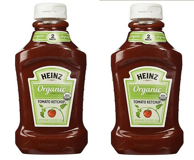 Heinz Twin Pack Organic Tomato Ketchup $5.50