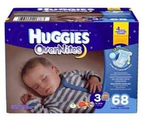 FREE Huggies Overnites Diapers Sample!