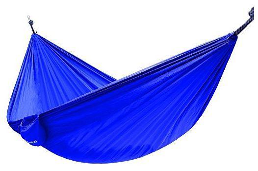 Ohuhu Portable Nylon Fabric Travel Camping Hammock $11.72