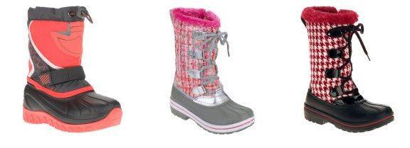 Ozark Trail Toddler Girls' Winter Boots $9.88 (Was $29)