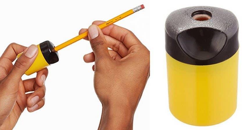 AmazonBasics Compact Manual Pencil Sharpener $1.29 (Was $4.49)