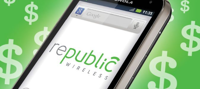 FREE $20 Credit to Republic Wireless - Cell Phone Plans Starting at only $15.00
