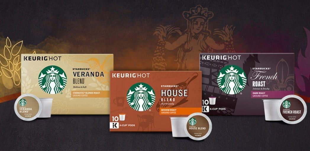 HURRY!!! Starbucks K-Cup Tasting Flight Sample