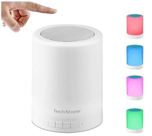 Table Lamp Bluetooth Speaker Touch Sensor Bedside Lamp $10.58 (Was $23)