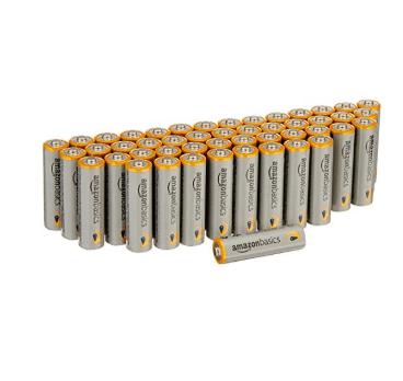 AmazonBasics AA Batteries 48-Pack $8.99 Shipped