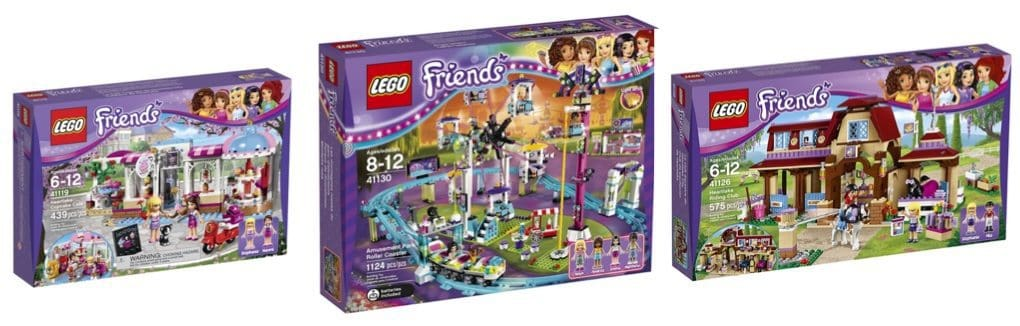 Buy One Get One 40% Off LEGO Friends Sets