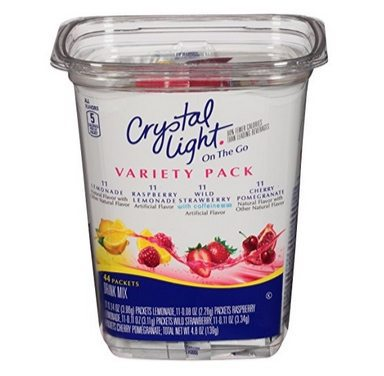 Crystal Light Drink Mix, Variety Pack, On The Go Packets, 44 Count Only $4.55 Shipped **10¢ each**
