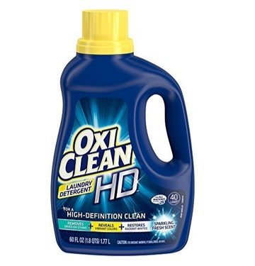 OxiClean HD Laundry Detergent 60oz Bottle Only $4.09