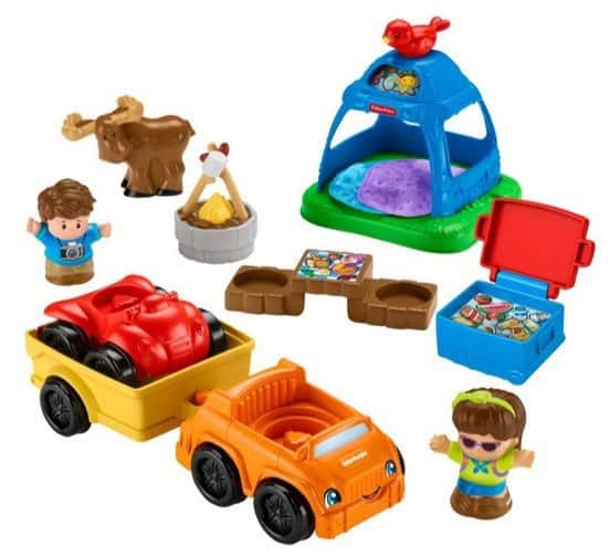 Fisher-Price Little People Going Camping Playset $9.72 (Was $20)