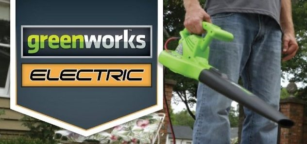 Greenworks Electric 160 MPH Blower $20.27 (Was $50)