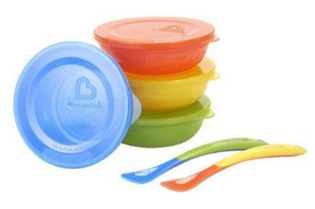 Munchkin Love-a-Bowls 10 Piece Feeding Set Only $4.31