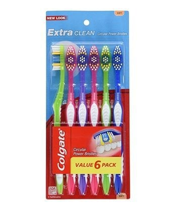 6 Count Colgate Toothbrushes $3.00 Shipped - Only 50¢ Per Toothbrush