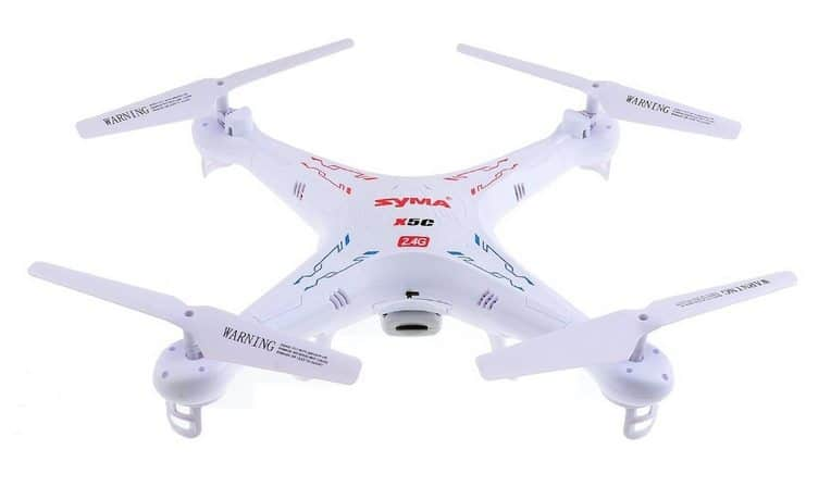 Syma X5C Quadcopter with HD Camera $37.99 **Today Only**
