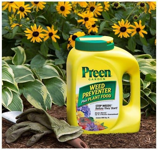 Preen Garden Weed Preventer Plus Plant Food $14.89 (Was $31.94)