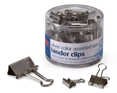 Officemate Silver Binder Clips 30 Count Only $1.21