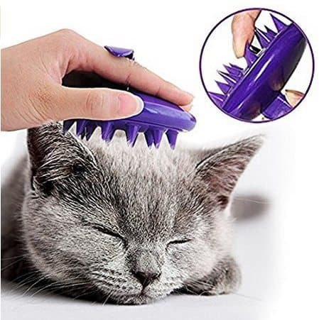 Cat Grooming Massage Brush Only $6.99