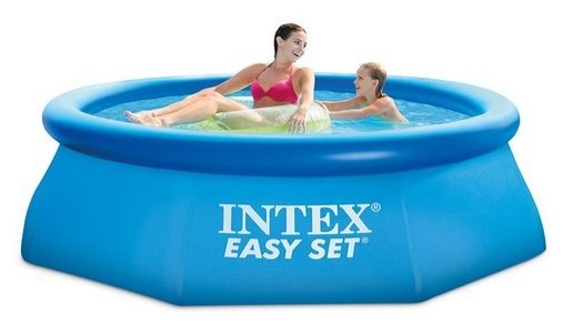 Intex 8ft X 30in Easy Set Pool Set with Filter Pump $39.38 (Was $100)