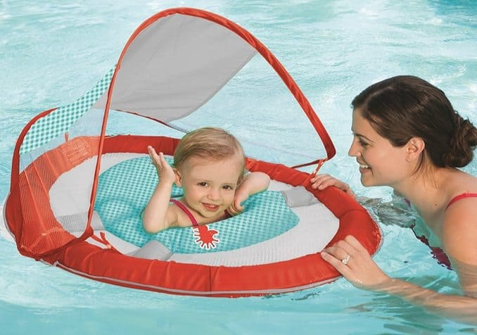 SwimWays Baby Spring Float with Sun Canopy $13.39