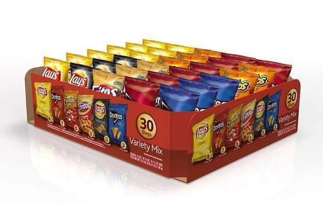 Frito-Lay Variety Pack 30 Count $8.07 Shipped