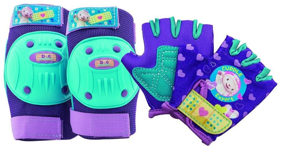 Bell Doc McStuffins Protective Gear with Elbow Pads/Knee Pads and Gloves Only $7.52