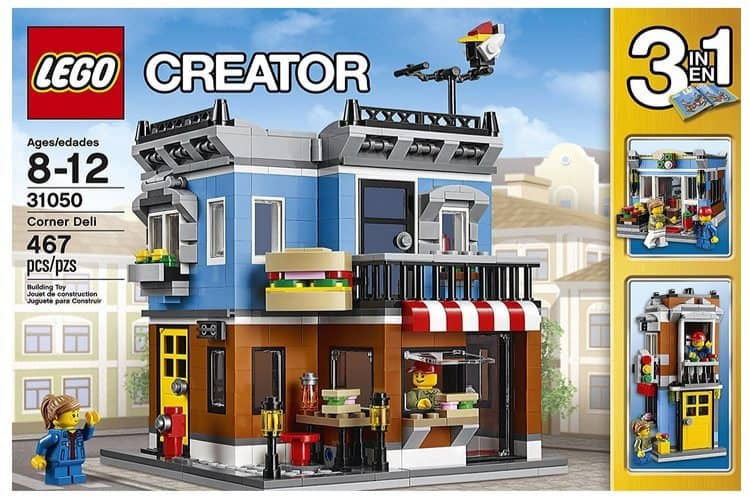 LEGO Creator 3-in-1 Corner Deli Only $21