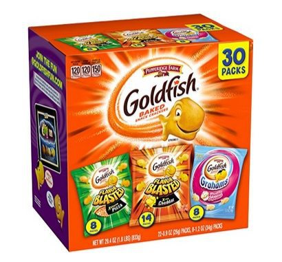 Pepperidge Farm Goldfish Variety Pack Only $6.63 **22¢ per bag**