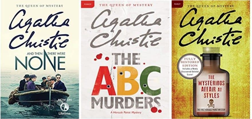 Today Only Snag Agatha Christie Kindle Books for $1.99 Each