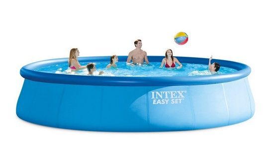 Intex 12ft X 30in Easy Set Pool Set w/Filter Pump $55.52 ~ 18ft X 48in Pool Set w/Filter Pump & More $244.83 **Today Only**