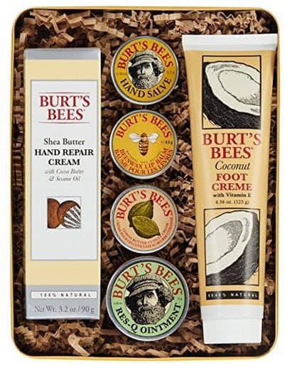 Burt's Bees Classics Gift Set, 6 Products in Giftable Tin for Only $20