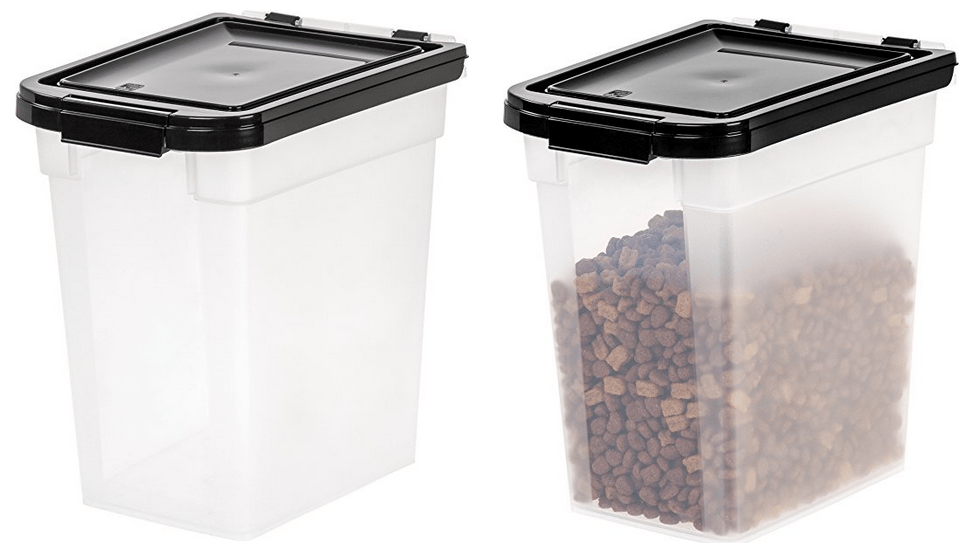 IRIS Nesting Airtight Pet Food Container $3.93