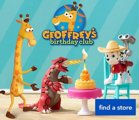 Geoffrey's In Store Birthday Club Event at Toys R Us on 5/6 = Free Stuff Animal & Book