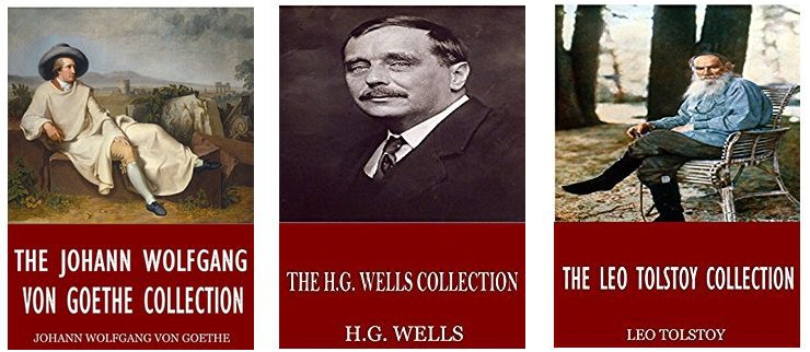 FREE Kindle Collections **HG Wells, Leo Tolstoy, and More**