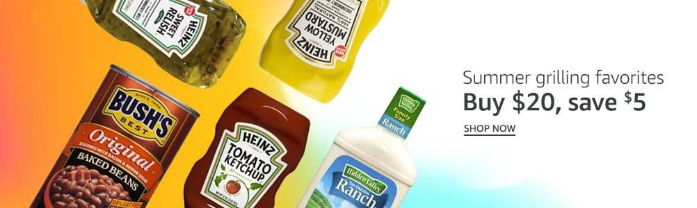 Save $5 off a $20 Amazon Prime Pantry Purchase